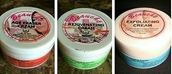 3  Pack  Beauche Creams ~ Exfoliating Rejuvenating & Age Eraser