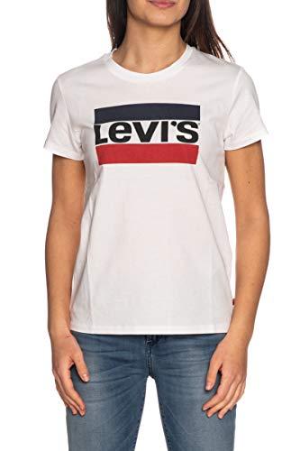 Levi's The Perfect Tee Maglietta, Sportswear Logo White, M Donna
