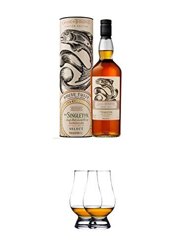 The Singleton of Glendullan Single Malt Scotch Whisky Game of Thrones 0,7 Liter + The Glencairn Glas Stölzle 2 Stück