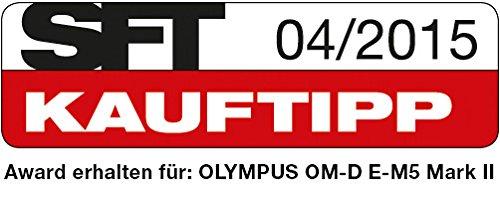 Olympus OM-D E-M5 Mark II Systemkamera (16 Megapixel, 7,6 cm (3 Zoll) TFT LCD-Display, Full HD, HDR, 5-Achsen Bildstabilisator) inkl. M.Zuiko Digital ED 12-50 mm Objektiv Kit schwarz