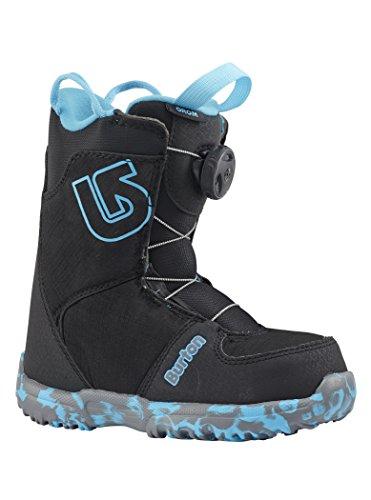 Burton GROM BOA Black Bottes de Snowboard Mixte Enfant, 2K