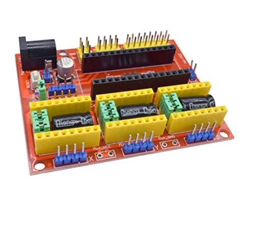 Apricot blossom Impresora 3D Imprime 1pcs Accesorios V4 Grabador 3D de Piezas de CNC Pantalla de dilatación Junta A4988 Controlador apropiado for Arduino estrenar