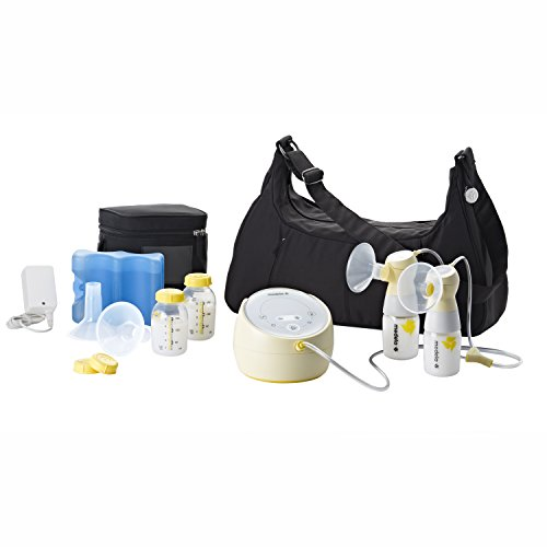 Medela Sonata Smart Double Electric Breast Pump, Lactation Support from 24/7 LC, Connects to MyMedela Mobile Breastpump App, Hospital Performance, Quiet, Touch Screen Display