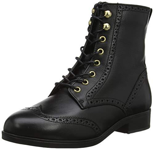 ALDO Damen GLORFIDIEN Combat Boots, Schwarz (Black Leather 001), 41 EU