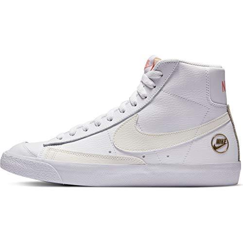 Nike WMNS BLAZER MID VNTG 77 - Zapatillas deportivas (talla 36,5), color blanco