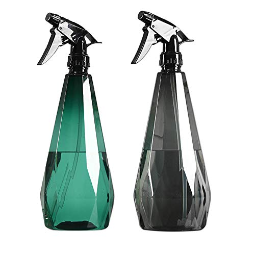 BSH Spray Bottle, Squirt Bottle, Empty Spray Bottles for Cleaning Solutions, Plastic Spray Bottle for House Garden Plants, Mister Spray Bottle, Refillable Sprayer with Mist and Stream Mode 1L/32oz(2 Pack)