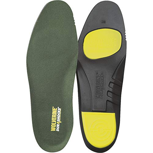 Wolverine Men's DuraShocks Insole, Green, M US09 / EU42