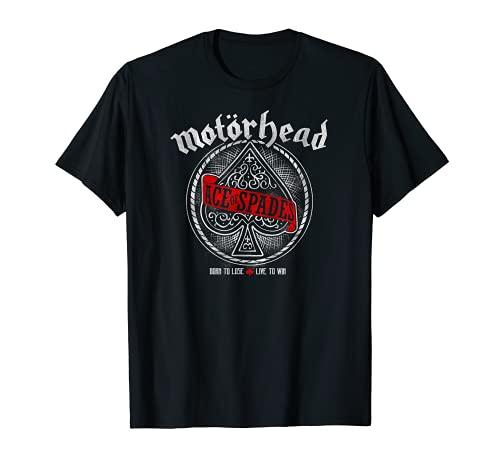 Motörhead - Ace of Spades Red Sash Camiseta