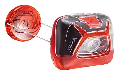 Linterna frontal PETZL ZIPKA roja – 200 lm