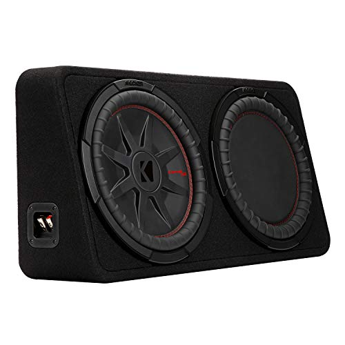 """KICKER CompRT 12""""(30cm) subwoofer in Thin Profile encl, 2ohm, RoHS Compliant"""