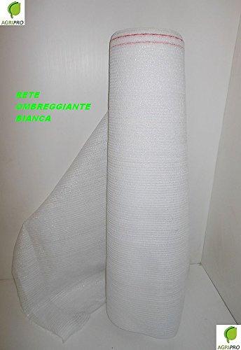 Preisvergleich Produktbild Sonnenschutzplane,  Farbe: weiß,  90%,  Maße: 2 x 10 m,  auch als Wind- und Sichtschutz geeignet