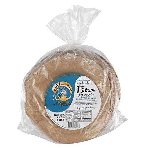 Aladdin Baking Company, Pita Bread Whole Wheat, 11 Ounce