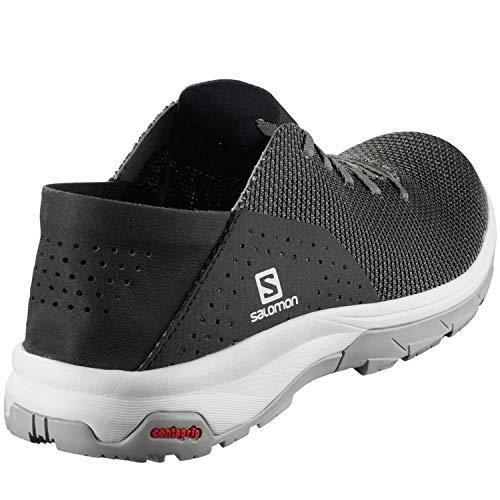 Salomon Tech Lite, Zapatillas de Senderismo acuáticas Hombre, Gris (Quiet Shade/Black/Alloy), 41 1/3 EU