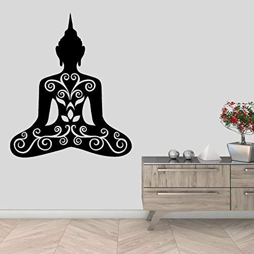 WERWN Zen Pared Budista Yoga Mural decoración del hogar Adornos