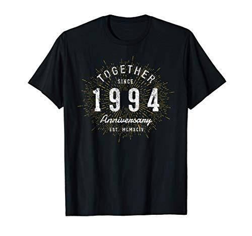 27 Años Juntos Desde 1994 27 Aniversario Camiseta