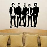 One Direction Wandaufkleber Poster Schlafzimmer Living