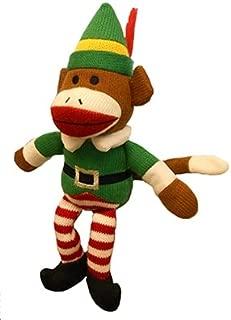 elf sock monkey
