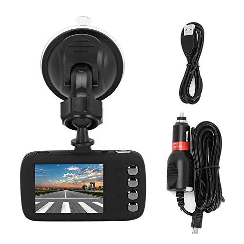 Auto-recorder camera, 1080p HD mini-2 inch beeldschermrecorder met DVR-spiegelcamera nacht-DVR-camera auto-recorder met lens