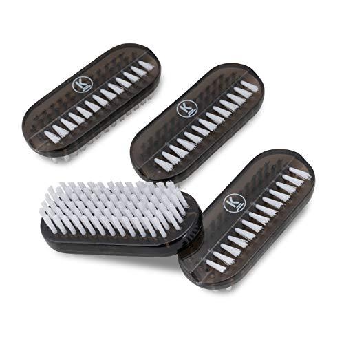 K-Pro Brosse à Ongles - 4 Brosses pour le Soin des Mains, Manucure, Pédicure