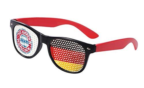 Bayern München compatibele bril + sticker München Forever, FCB, fanbril WM EM-bril
