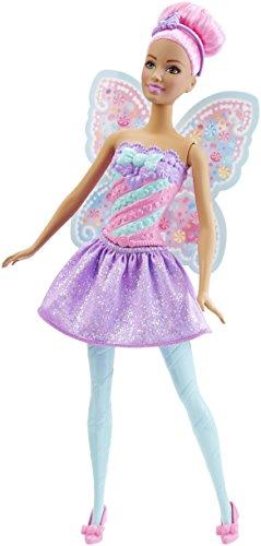 Barbie-DHM51 barbie Hada mágica, color dulces. (Mattel DHM51) , color/modelo surtido