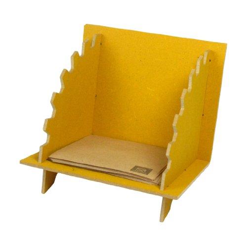 Werkhaus- Zettelbox: Ideal neben dem Telefon und auf jedem Schreibtisch. Maße: Höhe / Breite / Tiefe 13 cm, 14 cm, 17 cm