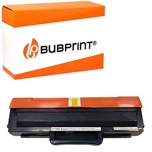 Bubprint Compatible para HP 106A XXL 2000 páginas con Chip Laser MFP 135ag 107w 137fwg 135a 130 107a 135w 135wg 137fnw 137fwg 138fnw 138fw 138p 138pn 138 PNW Cartucho Tóner Negro W1106A