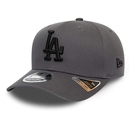 New Era Los Angeles Dodgers Cap MLB Baseball Stretch Kappe Basebacap Dunkelgrau - S-M
