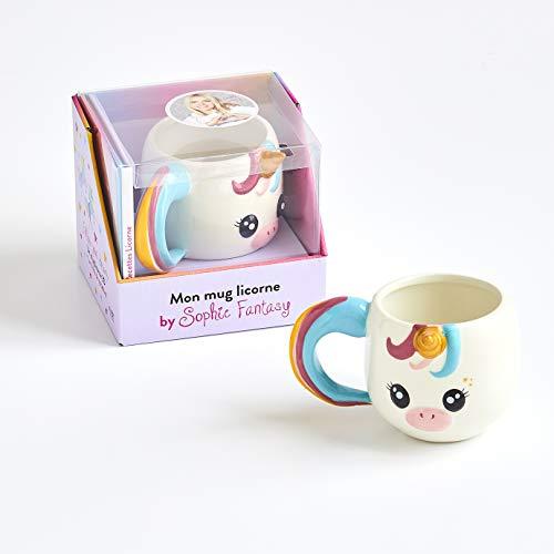 Mon mug licorne by Sophie Fantasy: Le livre Recettes licorne avec 1 mug