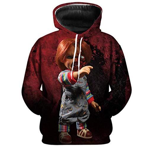 Boruixi Shops Halloween Holiday New Boy2 Horror Hoodie HH Costume...