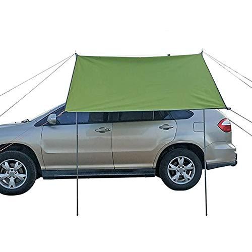 thorityau Autokonto Zelte, Dachzelt Autodachzelt, Camping im Freien Camping Familienauto Markise