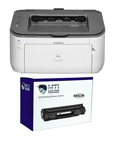 MICR Toner International imageCLASS LBP6230dw Wireless Laser Check Printer Bundle with Compatible Canon 126 MICR Toner Cartridge