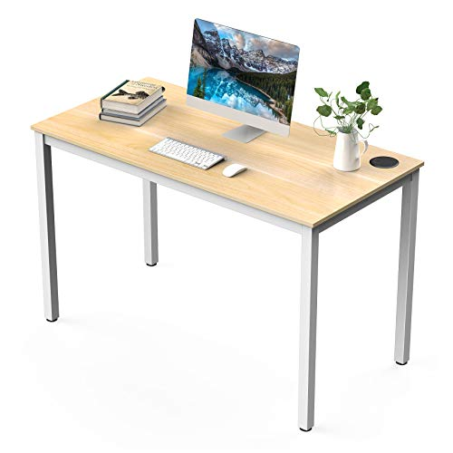 UMI Amazon Brand Computer Writing Desk Simple Computer Table for Home Office Sturdy Wooden desk Latop PC Workstation - 120 × 60cm