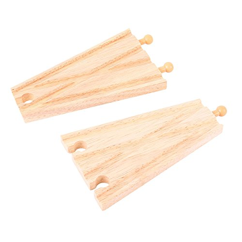 Bigjigs Rail Rails de Croisement (Lot de 2)