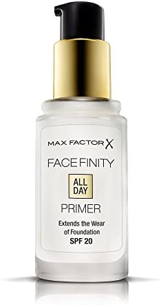 Max Factor Facefinity All Day Primer, Transparent, 30ml, SPF20