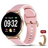 GOKOO Montre Connectée Femmes Homme Smartwatch Sport Bracelet Connecté Étanche Bluetooth Montre Intelligente...