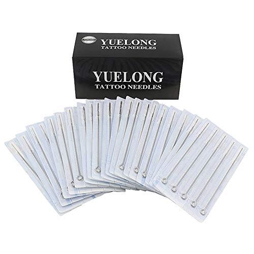 Tattoo Needles - Yuelong 100 Pieces Disposable Mixed Tattoo Guns...