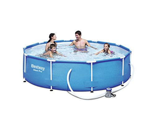 Bestway 56408  Steel Pro  - Piscina desmontable tubular, 305 x 76 cm,  4678...