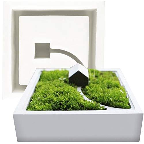 musykrafties Bloem Pot Silicone Moulds DIY Succulent Planter Bowl Asbak Kaars Zeep Pen Houder