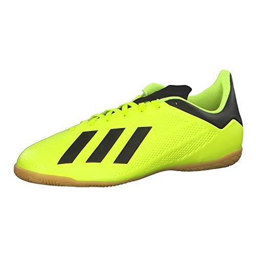 adidas X Tango 18.4 in, Zapatillas de fútbol Sala Hombre, Multicolor (Amasol/Negbás/Ftwbla 000), 42 2/3 EU