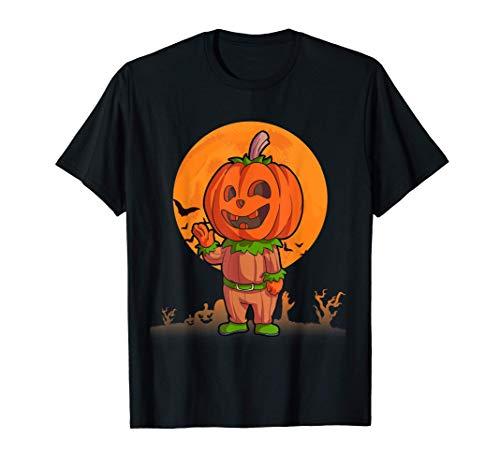 Calabaza Disfraces de Halloween para hombres mujeres niños Camiseta