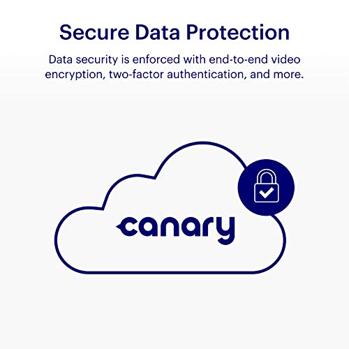 Canary View Indoor Home Security Camera with Premium Service (1 YR FREE Incl.) | 1080p HD, 2-Way Talk, 30-Day Video History, Person Detection, One-tap to Police, Alexa, Google, Baby Monitor, WiFi IP