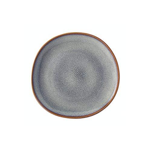 like. by Villeroy & Boch - Lave beige Frühstücksteller, 23,5 cm, stilvoller Speiseteller aus Steingut für Brunches, spülmaschin- und mikrowellengeeignet