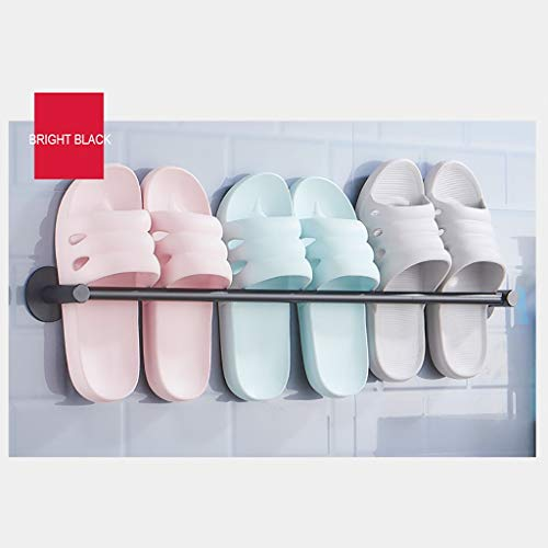 Wall shelf Floating shelf wandrek douche-organisator badkamerrek keuken opslagrek aan de muur gemonteerde aluminium handdoekhouder / -houder/plankhouder voor de badkamer zwevende plank 70cm C