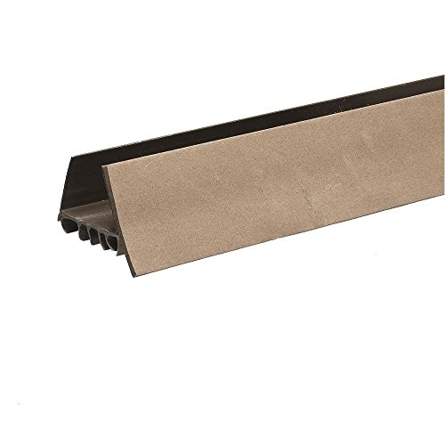 Slide on Door Sweep with Foam Draft Stop - Easy Installation - Slide Right On - for 1