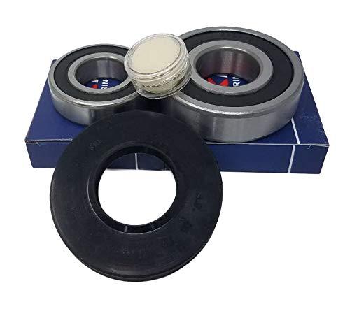 doka - Rodamiento de bolas 6205 RS 6306 RS junta de eje 00172686 lavadora Bosch Maxx 5 Maxx 6 Maxx 7 Siemens WM