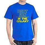 CafePress Best Son Galaxy 100% Cotton T-Shirt