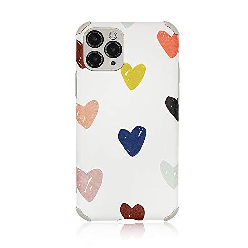 Adecuado para iPhone anti-caída TPU teléfono caso Color: 1, 2, 3, 4, 5, 6, 7, 8, 9,
