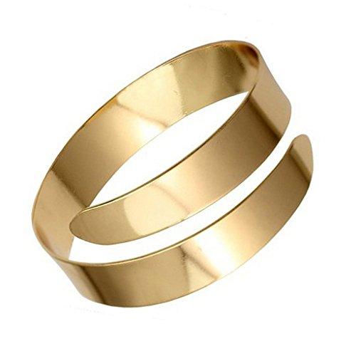 Gazechimp Klassisch Armreif Armband Oberarmreif Armbänder Armreifen Schmuck Gold