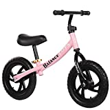 Inicio Equipamiento Bicicletas de equilibrio Niños y niños pequeños Bicicleta de equilibrio deportiva Sin pedal Bicicleta para caminar con marco de acero al carbono Manillar y asiento ajustables Bi